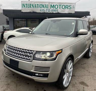2014 Land Rover Range Rover for sale at International Motors Inc. in Nashville TN