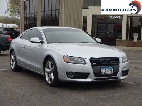 2010 Audi A5 for sale at RAVMOTORS 2 in Crystal MN
