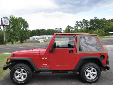 2003 Jeep Wrangler for sale at Joe Lee Chevrolet in Clinton AR
