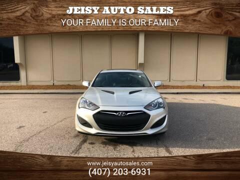 2013 Hyundai Genesis Coupe for sale at JEISY AUTO SALES in Orlando FL