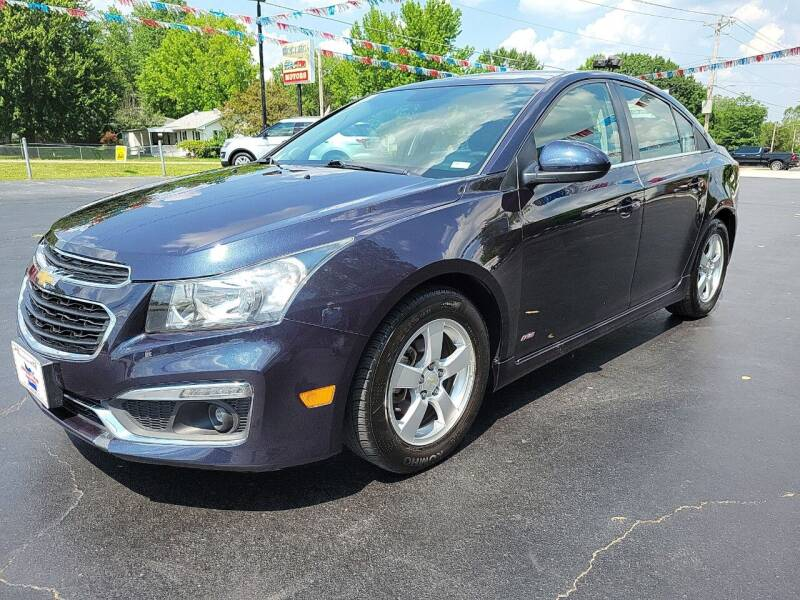 2015 Chevrolet Cruze for sale at County Seat Motors in Union MO