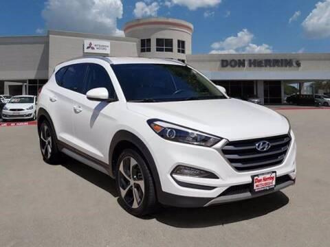 2017 Hyundai Tucson for sale at Don Herring Mitsubishi in Plano TX