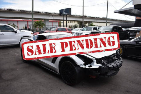 2016 Chevrolet Corvette for sale at ELITE MOTOR CARS OF MIAMI in Miami FL