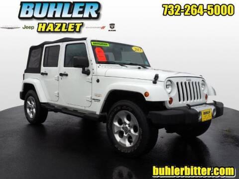 2013 Jeep Wrangler Unlimited for sale at Buhler and Bitter Chrysler Jeep in Hazlet NJ