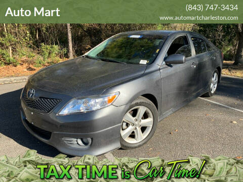 2011 Toyota Camry for sale at Auto Mart in North Charleston SC