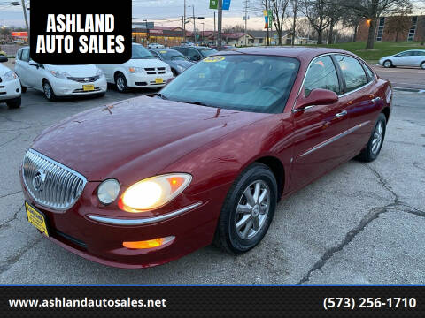 2009 Buick LaCrosse for sale at ASHLAND AUTO SALES in Columbia MO