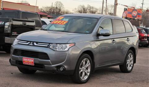 2014 Mitsubishi Outlander for sale at SOLOMA AUTO SALES in Grand Island NE