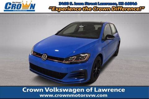 2021 Volkswagen Golf GTI for sale at Crown Automotive of Lawrence Kansas in Lawrence KS