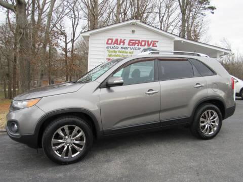 2011 Kia Sorento for sale at Oak Grove Auto Sales in Kings Mountain NC