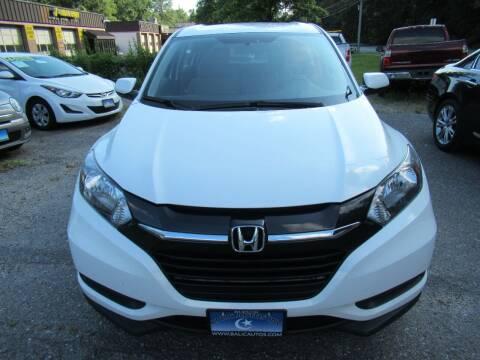 2018 Honda HR-V for sale at Balic Autos Inc in Lanham MD