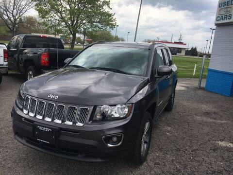 2016 Jeep Compass for sale at CHAGRIN VALLEY AUTO BROKERS INC in Cleveland OH
