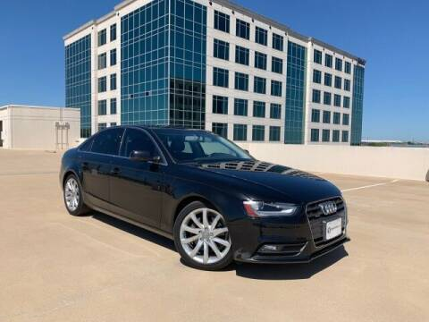 2013 Audi A4 for sale at SIGNATURE Sales & Consignment in Austin TX