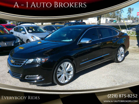 2015 Chevrolet Impala for sale at A - 1 Auto Brokers in Ocean Springs MS
