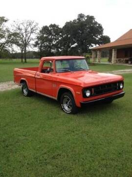 1969 Dodge D100 Pickup for sale at Classic Car Deals in Cadillac MI