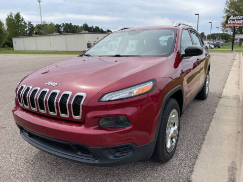 2015 Jeep Cherokee for sale at Blake Hollenbeck Auto Sales in Greenville MI
