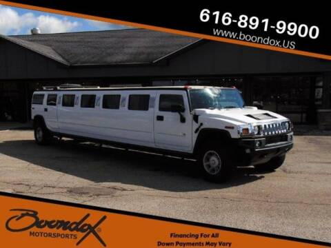2005 HUMMER H2 for sale at Boondox Motorsports in Caledonia MI