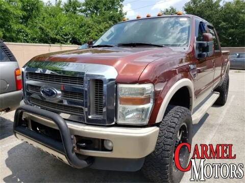 2008 Ford F-250 Super Duty for sale at Carmel Motors in Indianapolis IN