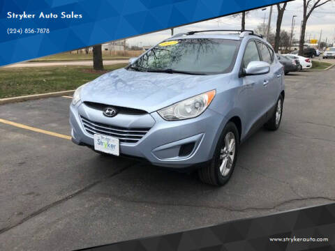 2012 Hyundai Tucson for sale at Stryker Auto Sales in South Elgin IL
