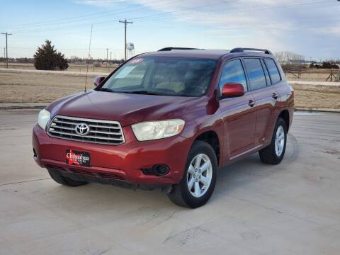 2008 Toyota Highlander for sale at Chihuahua Auto Sales in Perryton TX