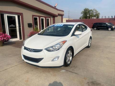 2013 Hyundai Elantra for sale at Sexton's Car Collection Inc in Idaho Falls ID
