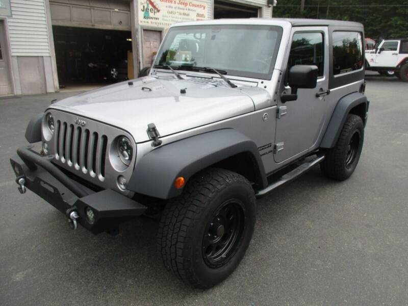 2016 Jeep Wrangler for sale at Route 4 Motors INC in Epsom NH