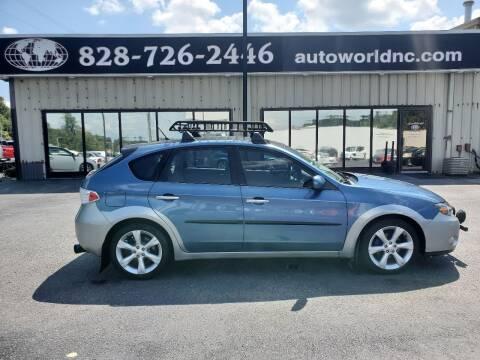 2009 Subaru Impreza for sale at AutoWorld of Lenoir in Lenoir NC