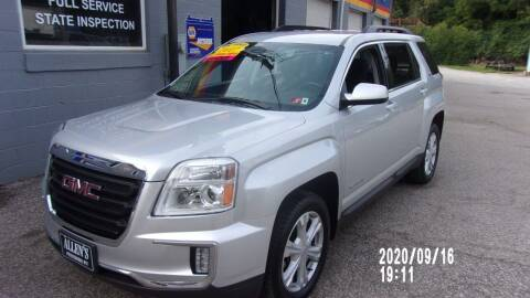 2017 GMC Terrain for sale at Allen's Pre-Owned Autos in Pennsboro WV