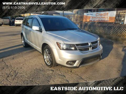 2014 Dodge Journey for sale at EASTSIDE AUTOMOTIVE LLC in Nashville TN