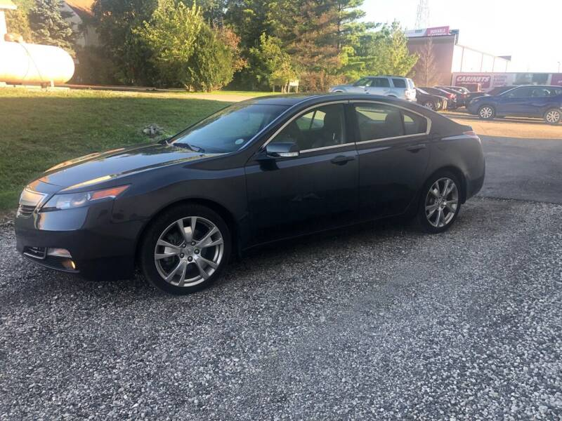 2012 Acura TL for sale at Zarate's Auto Sales in Caledonia WI