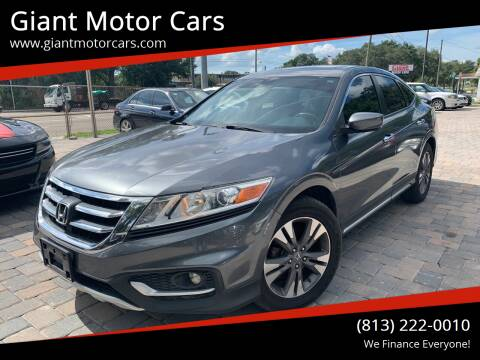 2014 Honda Crosstour for sale at Giant Motor Cars in Tampa FL