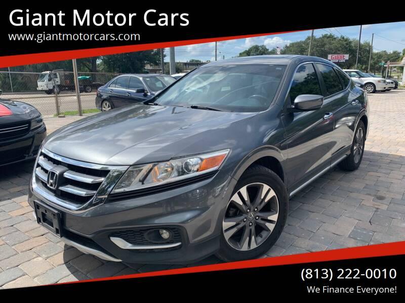 2014 Honda Crosstour for sale at Giant Motor Cars in Tampa FL