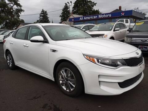 2018 Kia Optima for sale at All American Motors in Tacoma WA