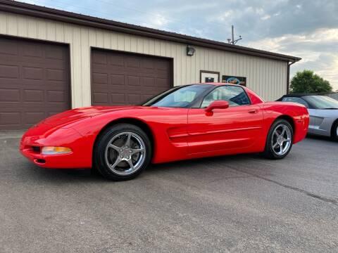 2000 Chevrolet Corvette for sale at Ryans Auto Sales in Muncie IN