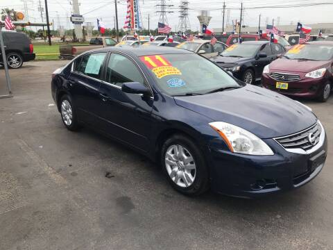 2011 Nissan Altima for sale at Texas 1 Auto Finance in Kemah TX