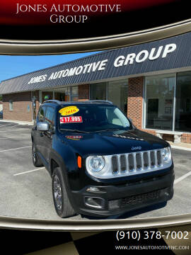 2016 Jeep Renegade for sale at Jones Automotive Group in Jacksonville NC