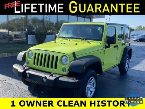 2017 Jeep Wrangler Unlimited for sale at Vicksburg Chrysler Dodge Jeep Ram in Vicksburg MI