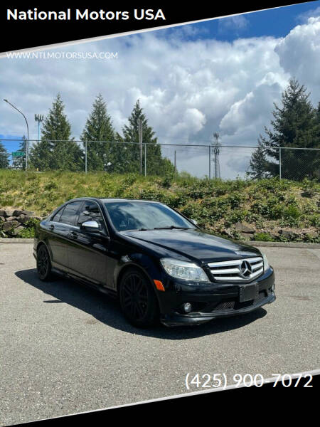 2009 Mercedes-Benz C-Class for sale at National Motors USA in Federal Way WA
