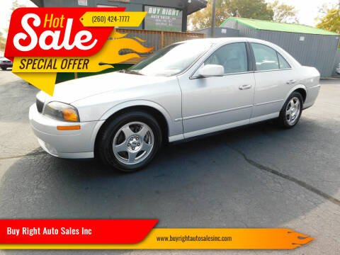 2000 Lincoln LS for sale at Buy Right Auto Sales Inc in Fort Wayne IN