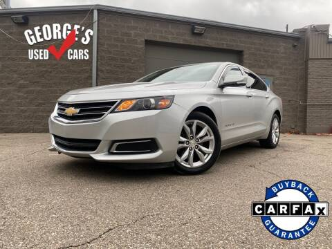 2016 Chevrolet Impala for sale at George's Used Cars - Telegraph in Brownstown MI