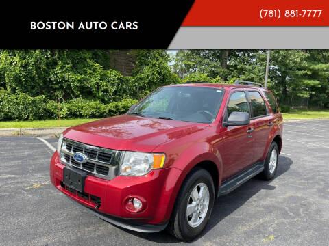 2012 Ford Escape for sale at Boston Auto Cars in Dedham MA