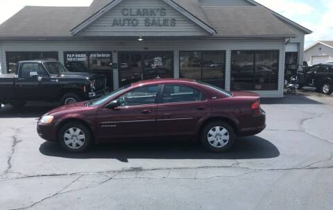 2001 Dodge Stratus for sale at Clarks Auto Sales in Middletown OH