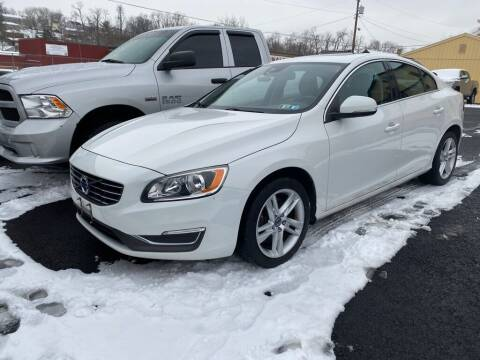 2014 Volvo S60 for sale at Sisson Pre-Owned in Uniontown PA