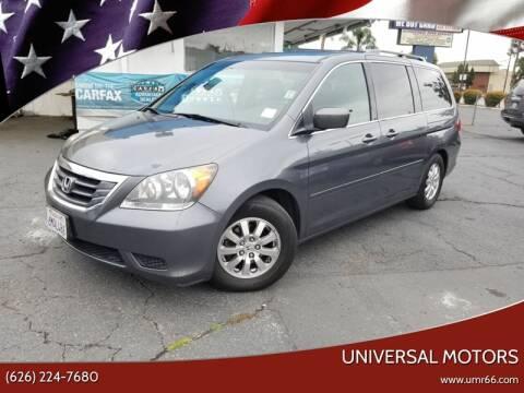 2010 Honda Odyssey for sale at Universal Motors in Glendora CA