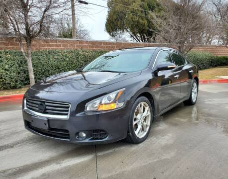 2012 Nissan Maxima for sale at International Auto Sales in Garland TX