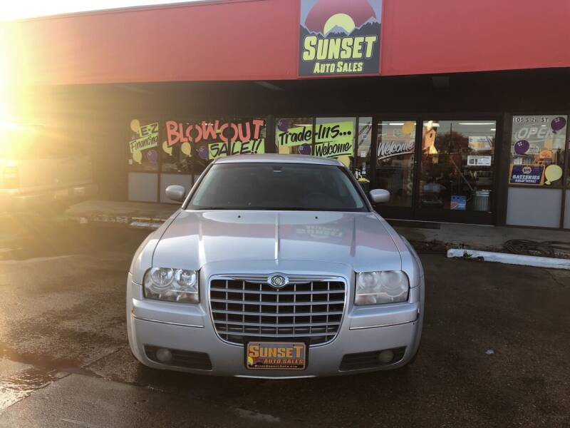 2008 Chrysler 300 for sale at Sunset Auto Sales & Repair in Lasalle CO