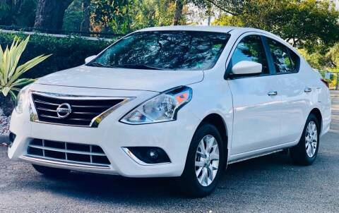 2017 Nissan Versa for sale at Sunshine Auto Sales in Oakland Park FL