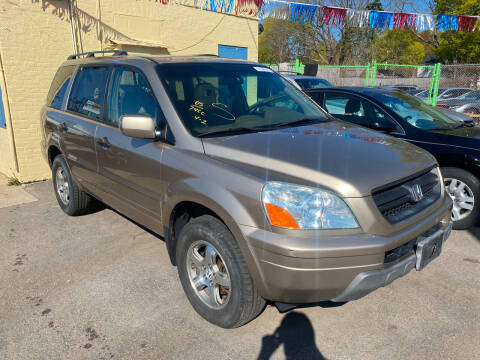 2005 Honda Pilot for sale at Polonia Auto Sales and Service in Hyde Park MA