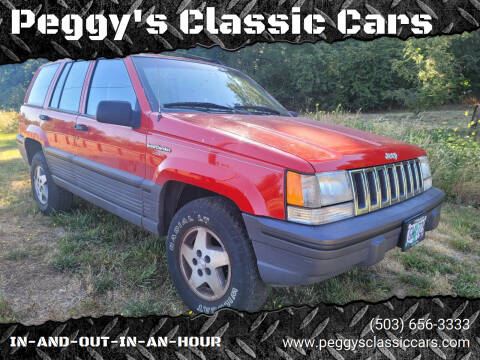 1993 Jeep Grand Cherokee for sale at Peggy's Classic Cars in Oregon City OR