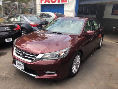 2013 Honda Accord for sale at DEALS ON WHEELS in Newark NJ