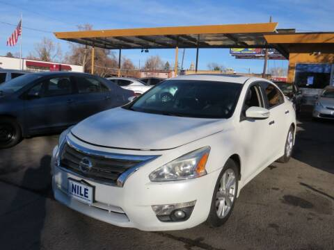 2015 Nissan Altima for sale at Nile Auto Sales in Denver CO